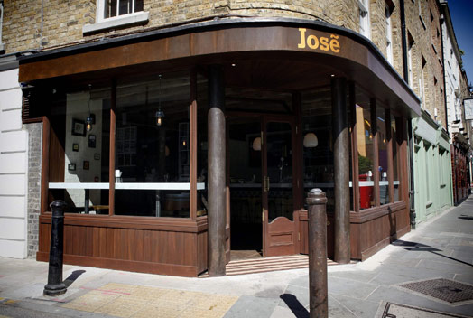 restaurante Jose en Londres