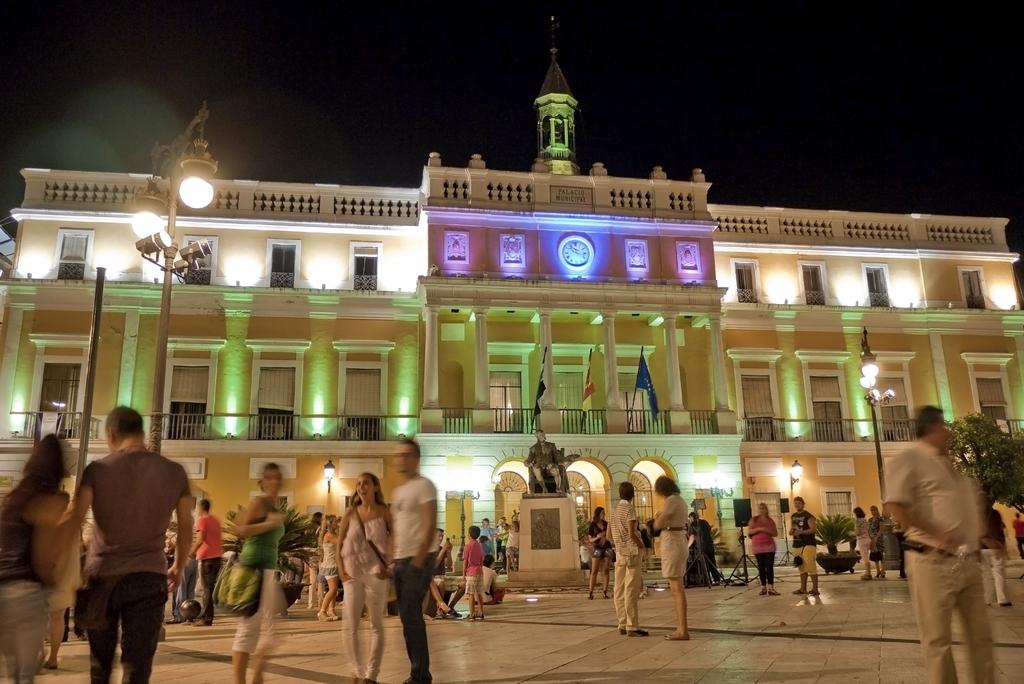 Noche en Blanco, Badajoz