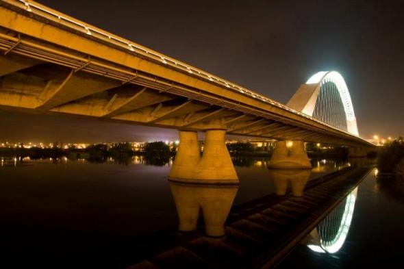 Puente Lusitania Mérida. Foto cedida por Jose Maria Colomo Alvarez