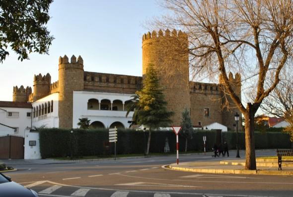 El alcázar de los Duques de Feria